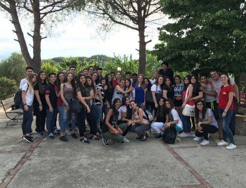 Il Liceo Bruno di Arzano alla Fattoria Sociale Melagrana
