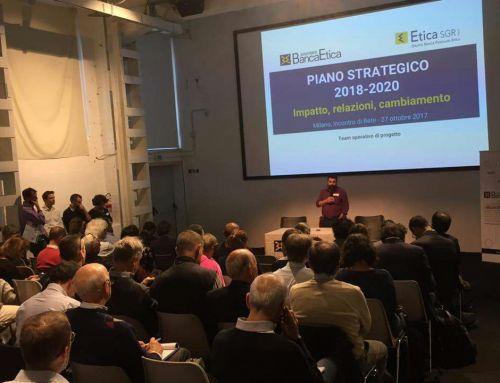 Melagrana all'incontro dei Soci in Rete di Banca Etica a Milano