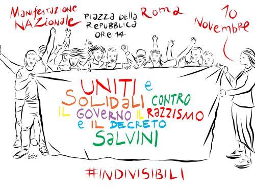 Indivisibili: costruzione di una rete di resistenza in Campania. Il 10 novembre manifestazione a Roma