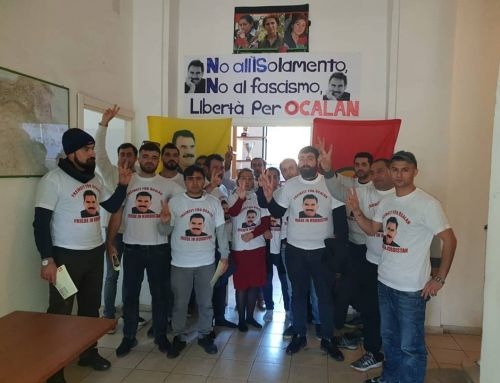 Comunità curda di Roma inizia sciopero della fame per la fine dell'isolamento di Abdullah Ocalan