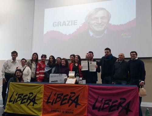 Firmato il patto per il Presidio di LIBERA Valle Caudina e Valle Telesina. Melagrana presente.