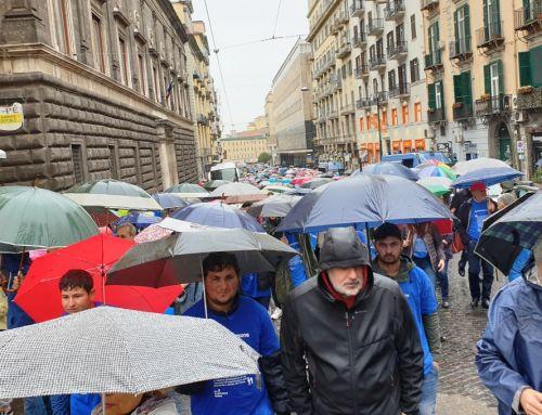 #primalepersone Le dichiarazioni di Alex Zanotelli e di altri presenti alla marcia