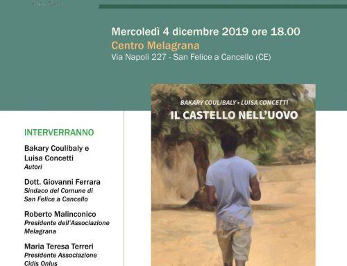 """Presentazione de """"Il castello nell'uovo"""" al Centro Melagrana"""