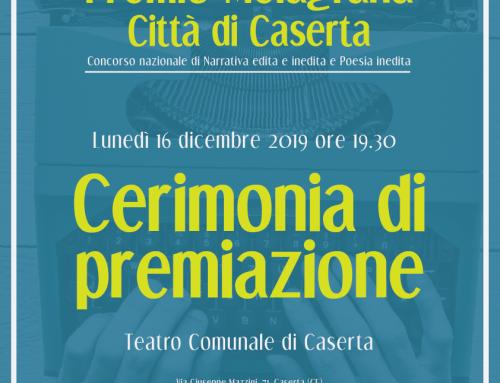 Lunedì 16 dicembre Cerimonia Premio Melagrana al Teatro comunale di Caserta