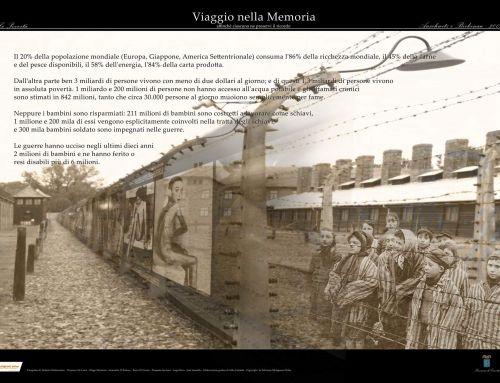Viaggio nella Memoria… affinché ciascuno ne preservi il ricordo. Mostra fotografica dell'associazione Melagrana