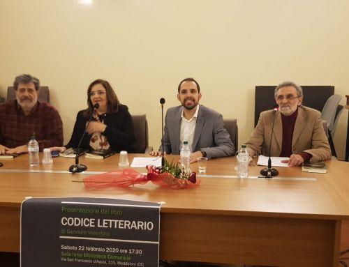 Buona partecipazione alla presentazione di Codice letterario a Maddaloni.